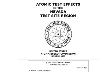http://www.fourmilab.ch/etexts/www/atomic_tests_nevada/
