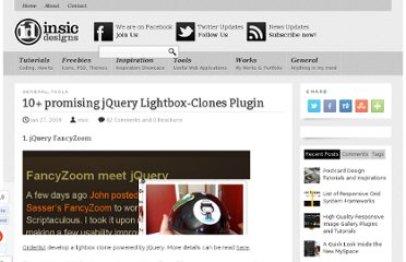 http://blog.insicdesigns.com/2009/01/10-promising-jquery-lighbox-plugin/