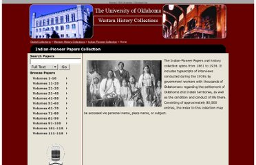 http://digital.libraries.ou.edu/whc/pioneer/