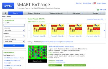 http://exchange.smarttech.com/search.html?sbj=mfl