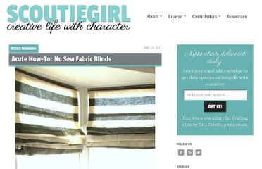 http://www.scoutiegirl.com/2011/04/acute-how-to-no-sew-fabric-blinds.html