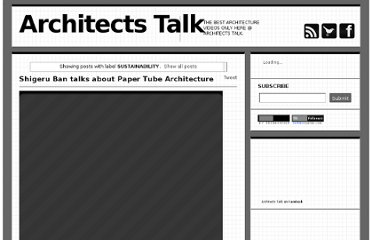 http://www.architects-talk.com/search/label/SUSTAINABILITY