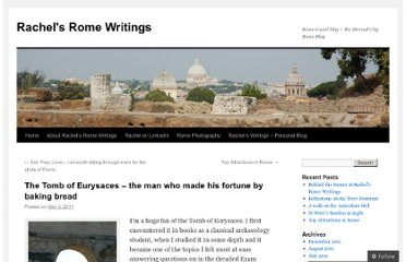 http://rachelsromewritings.com/2011/05/03/the-tomb-of-eurysaces/