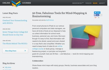 http://www.onlinecollegecourses.com/2010/11/04/50-free-fabulous-tools-for-mind-mapping-brainstorming/