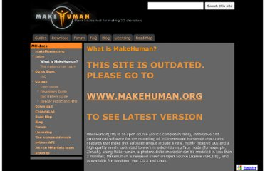 http://sites.google.com/site/makehumandocs/what-is-makehuman