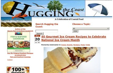 http://huggingthecoast.com/2009/07/20/40-gourmet-ice-cream-recipes-to-celebrate-national-ice-cream-month/