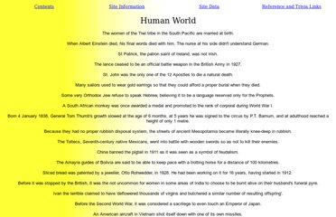 http://home.bitworks.co.nz/trivia/human.htm
