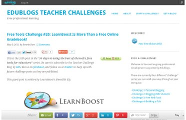 http://teacherchallenge.edublogs.org/2011/05/03/free-tools-challenge-20-learnboost-is-more-than-a-free-online-gradebook/