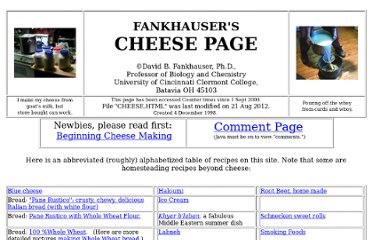 http://biology.clc.uc.edu/fankhauser/Cheese/CHEESE.HTML