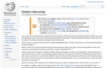 http://en.wikipedia.org/wiki/Global_citizenship