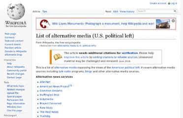 http://en.wikipedia.org/wiki/Alternative_media_%28U.S._political_left%29