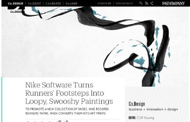 http://www.fastcodesign.com/1663705/nike-software-turns-runners-footsteps-into-loopy-swooshy-paintings