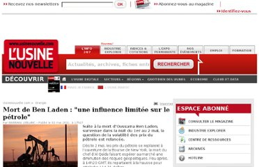 http://www.usinenouvelle.com/article/mort-de-ben-laden-une-influence-limitee-sur-le-petrole.N151096