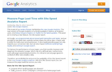 http://analytics.blogspot.com/2011/05/measure-page-load-time-with-site-speed.html