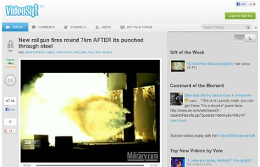 http://videosift.com/video/New-railgun-fires-round-7km-AFTER-its-punched-through-steel