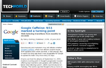 http://features.techworld.com/applications/3226432/google-caffeine-9-11-marked-a-turning-point/