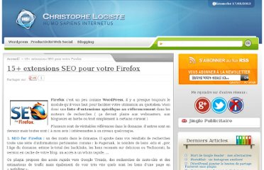 http://www.logiste.be/blog/15-extensions-seo-firefox/