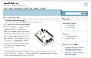 http://www.microbuilder.eu/Projects/LPC1343ReferenceDesign.aspx
