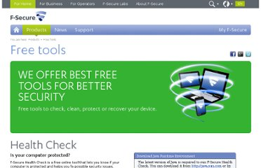 http://www.f-secure.com/en/web/home_global/protection/free-online-tools/free-online-tools