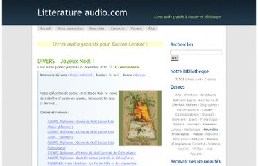 http://www.litteratureaudio.com/livres-audio-gratuits-mp3/tag/gaston-leroux,