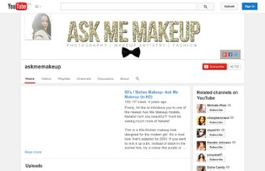 http://www.youtube.com/user/askmemakeup