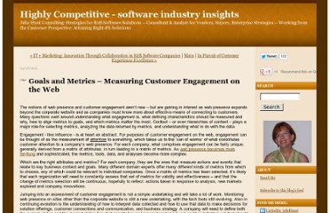http://jhcblog.juliehuntconsulting.com/2011/04/goals-and-metrics-measuring-customer-engagement-on-the-web.html