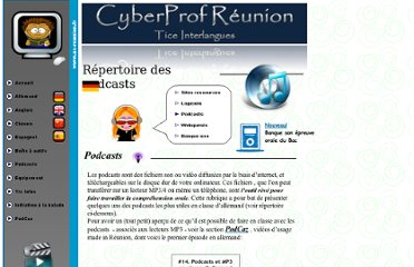 http://pedagogie2.ac-reunion.fr/cyberprofLV/index_fichiers/allemand_podcasts.htm