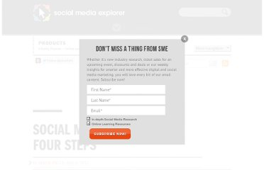 http://www.socialmediaexplorer.com/social-media-marketing/social-media-strategy-in-four-steps/