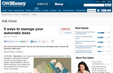 http://management.fortune.cnn.com/2011/05/06/5-ways-to-manage-your-autocratic-boss/