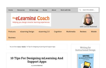 http://theelearningcoach.com/mobile/mobile-learning-and-support-app-design/