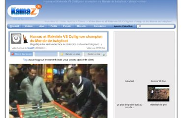 http://video.kamaz.fr/hoarau-et-makelele-vs-collignon-champion-du-monde-de-babyfoot-v4600.html