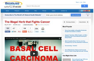 http://articles.mercola.com/sites/articles/archive/2011/05/07/medical-marijuana-becoming-blockbuster-drug.aspx