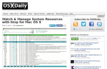 http://osxdaily.com/2011/05/06/htop-for-mac/