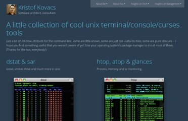http://kkovacs.eu/cool-but-obscure-unix-tools