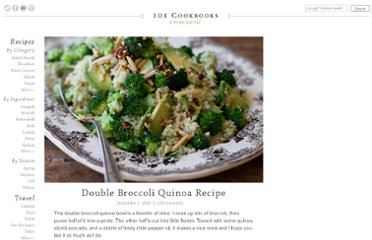 http://www.101cookbooks.com/archives/double-broccoli-quinoa-recipe.html