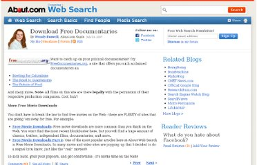 http://websearch.about.com/b/2007/07/31/download-free-documentaries.htm