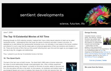 http://www.sentientdevelopments.com/2009/06/top-10-existential-movies-of-all-time.html