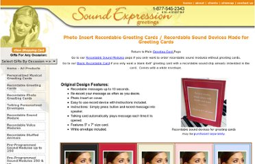 http://www.soundexpressiongreetings.com/musical-greetings/recordable-greeting-cards.html