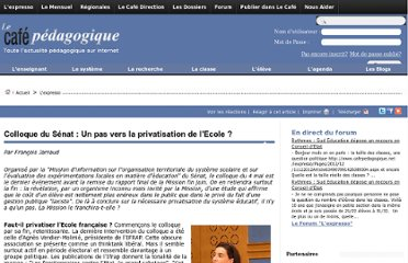 http://www.cafepedagogique.net/lexpresso/Pages/2011/05/05ColloqueSenat.aspx