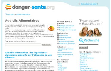 http://www.danger-sante.org/category/additifs-alimentaires/