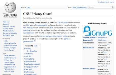 http://en.wikipedia.org/wiki/GNU_Privacy_Guard