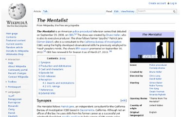 http://en.wikipedia.org/wiki/The_Mentalist