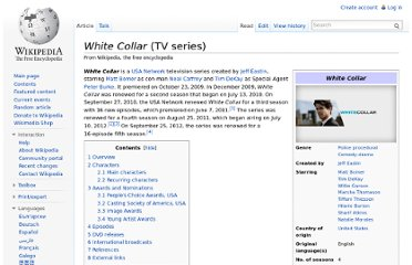 http://en.wikipedia.org/wiki/White_Collar_(TV_series)