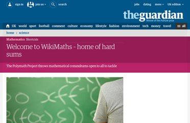http://www.guardian.co.uk/science/2011/may/08/welcome-to-wikimaths