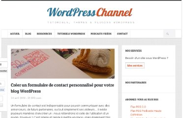 http://wpchannel.com/creer-formulaire-contact-personnalise-blog-wordpress/