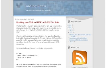 http://codingrants.blogspot.com/2008/04/rending-your-xml-as-html-with-xslt-in.html