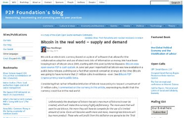 http://blog.p2pfoundation.net/bitcoin-in-the-real-world-supply-and-demand/2011/05/09