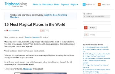http://www.tripbase.com/blog/15-most-magical-places-in-the-world/