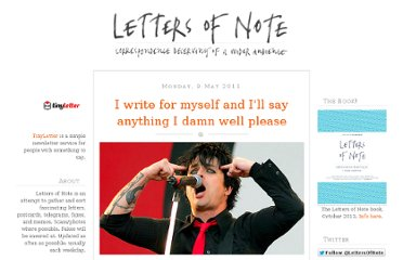 http://www.lettersofnote.com/2011/05/i-write-for-myself-and-ill-say-anything.html