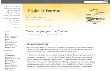 http://www.boulesdefourrure.fr/index.php?category/Carnets-de-plongee